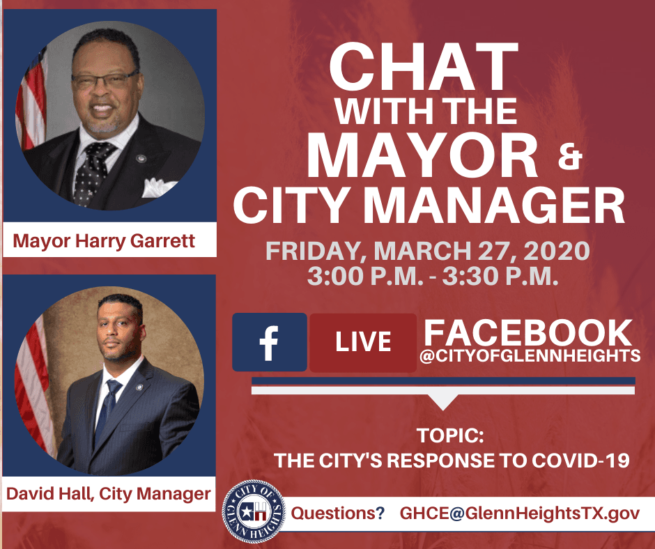 FB Live with Mayor and CM