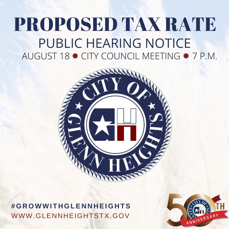 Tax Rate Public Hearing FY20-21 image
