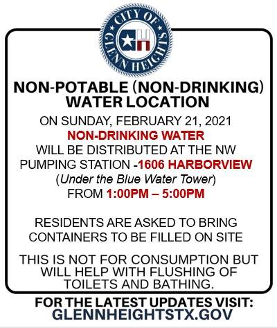 Non-Drinking Water 2.21.21